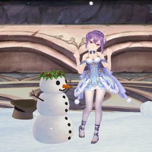 ぼたん雪の妖精ハヌス