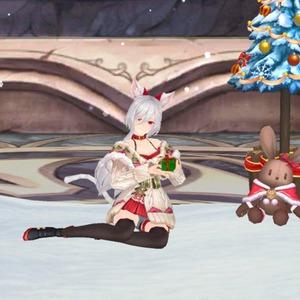 白い季節の猫キルツェ